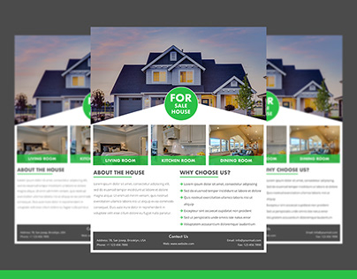 Real Estate Flyer Free PSD