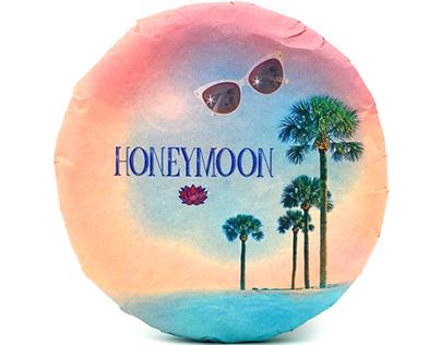 Honeymoon sheng puerh wrapper design