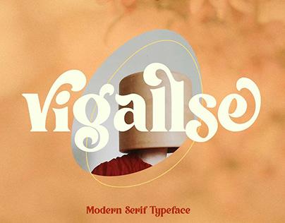 Vintage Modern Serif