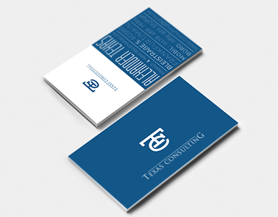 Business Card Template - Texas Consulting vol. 1