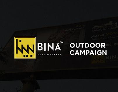 Bina outdoor campaign
