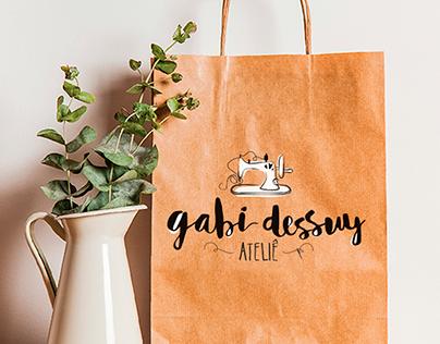 Identidade Visual: Gabi Dessuy Ateliê
