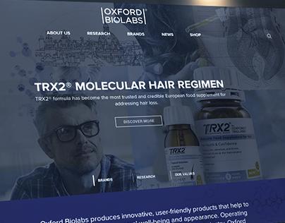 Website for Oxford Biolabs