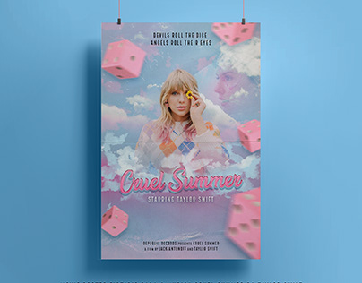 "Taylor Swift - ""Cruel Summer"" Movie Poster"