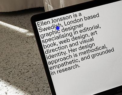 Ellen Jonsson - Website