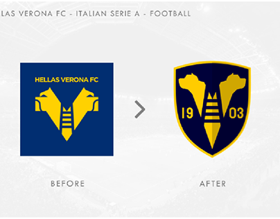 Serie A logos redesign  personal project
