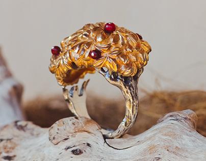 "Ring "" Apple Tree"""