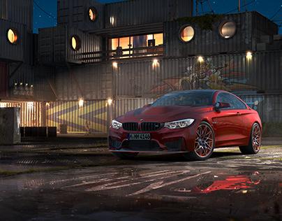BMW M4 (Coupe) | CGI | Key Visual
