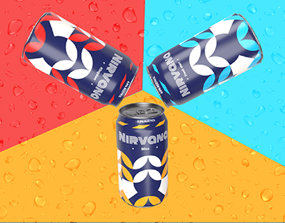 Nirvana brewery co. Visual identity system design