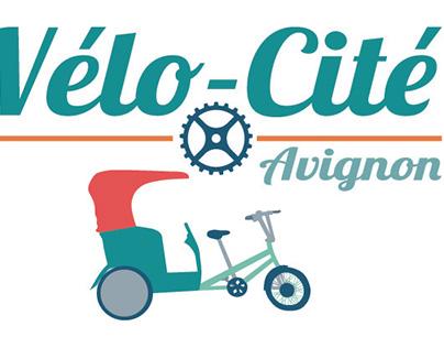 Vélo-Cité : identité visuelle et communication.