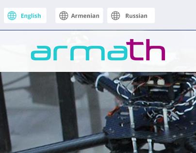 "Web Site For ""Armath"" Engineering Laboratories"