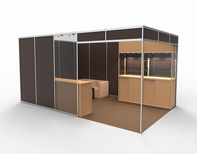 [CAD] Exhibition Booth