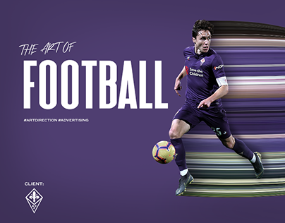 The Art Of Football. OOH Campaign for ACF Fiorentina.