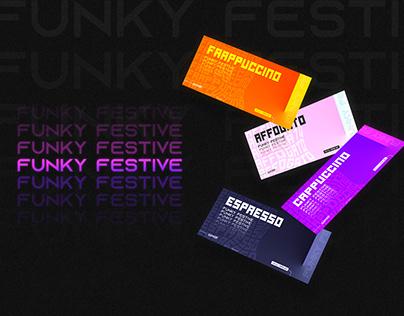 FUNKY FESTIVE - Virtual Event Ticket