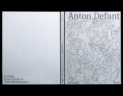 Anton Defant Drawings 19/20