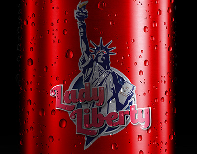 Lady Liberty Logo/Typography