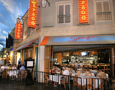 Wolfgang Puck's Spago Opens at Bellagio Hotel