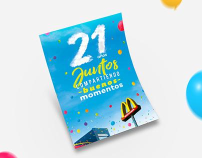 Aniversario 21 años | McDonald's
