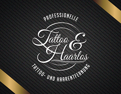 Tattoo And Hair Removal Studio - Branding
