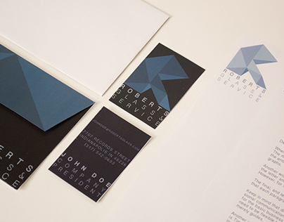 Roberts Glass and Service Company Identity