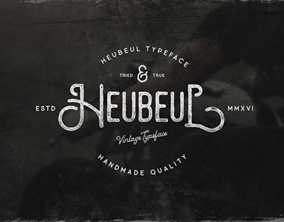 Heubeul Typeface Version 1.1 (New Update)