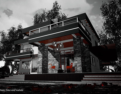 Architecture and nature (house one)