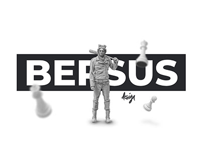 BERSUS - Interactive portfolio gallery with animation