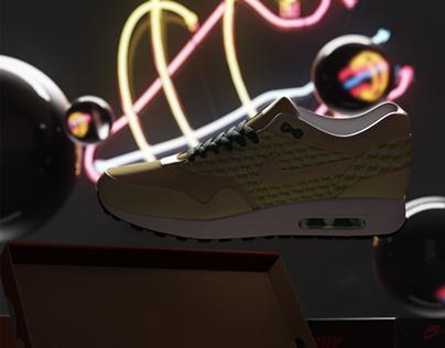 Nike Air Max 1 - Motion Graphics (Wanna Kicks ad)