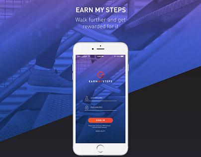 Earn My Steps - Get rewards for walking