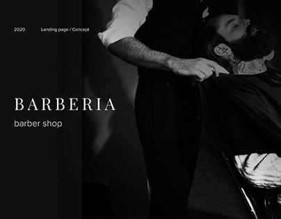 Barberia - Landing Page