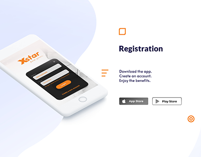 UI Design - X Star Application