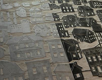 Linocut Print Process