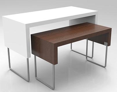 Exhibitor Table - Furniture Design. Interior Design //