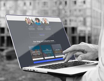 Landing Page + Logo Design