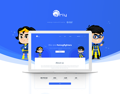 Airly Smogfighters -UX&UI Design
