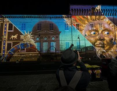 Ravenna Video Mapping