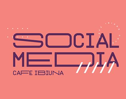 Social Media •Café Ibiúna