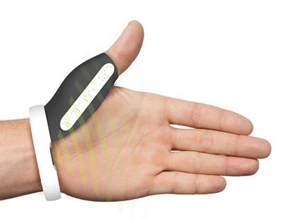 Wearable for deaf-blind