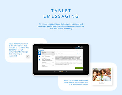 Inmate Tablet eMessaging