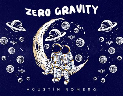Portada Zero Gravity | Agustín Romero