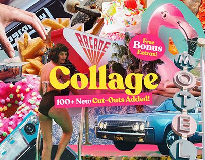 290+ Vintage Collage Cut-Outs Bundle
