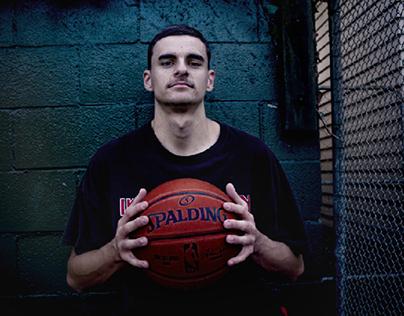 Street Basketball Photoshoot - Ben