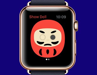 Daruma Doll Apple Watch App