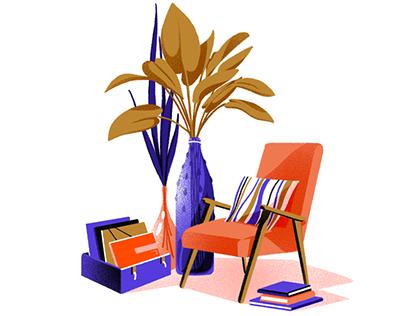 S.Bernardo Illustrations Set