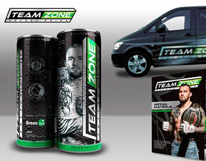 TeamZone Energy Drink Identity