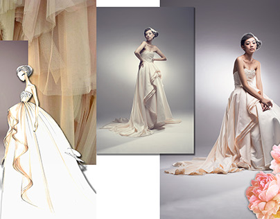 Freelance Project - Bridal & Evening gowns