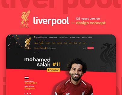 Liverpool 125 years version Design Concept