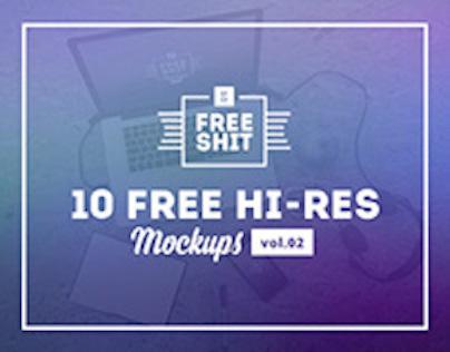 #FreeShit vol.2 - 10 Free Hi-Res iPhone & MacBook
