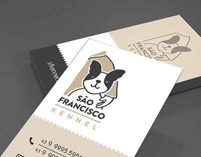 Canil São Francisco   Logo e ID visual