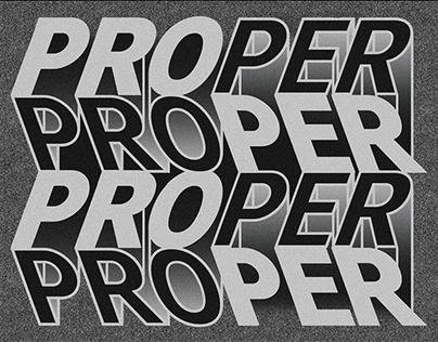PROPER - Identity